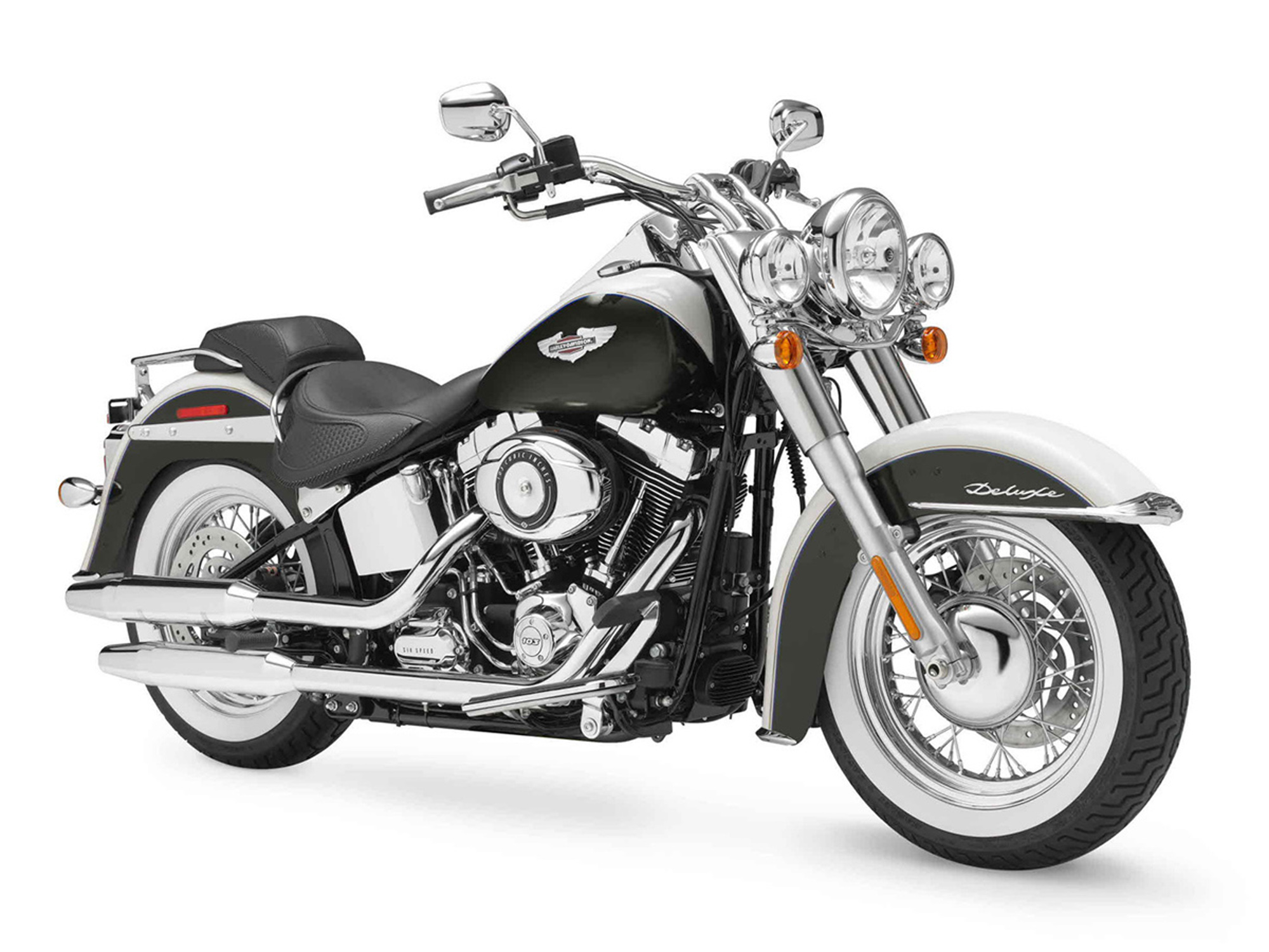 Rent a Harley-Davidson Softail Deluxe